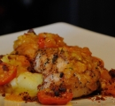 Pan Fried Breast of Chicken CloseUp